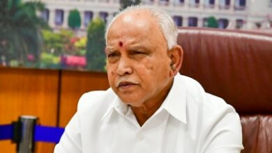 Photo of Yediyurappa replaces health minister in minor reshuffle