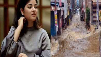 Photo of Hyderabad rains: Zaira Wasim prays for flood-affected people
