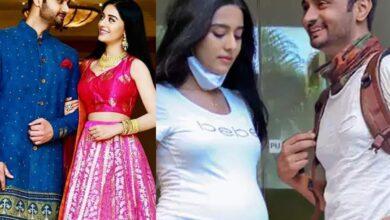 Amrita Rao will soon embrace motherhood, spotted flaunting baby bump