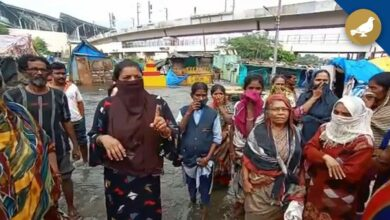 Photo of Hyderabad Rain: People angry with political leaders for floods