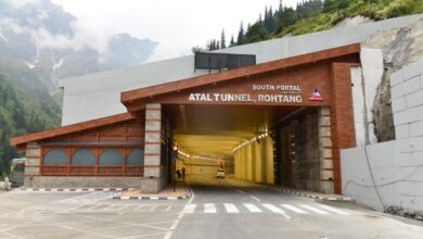 Atal Tunnel: 'Accident Prone Zone', 3 accidents in a single day