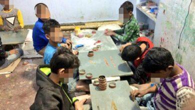 Photo of Bangle making has harmful effect on children's health