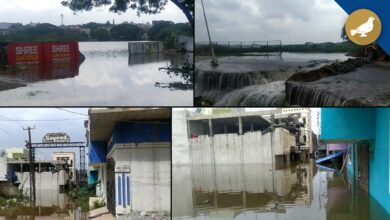 Photo of Hyderabad floods: Colonies under Barkas inundated due to rain