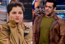 Photo of Bigg Boss 14: Rubina Dilaik upset with Salman Khan, wants to quit