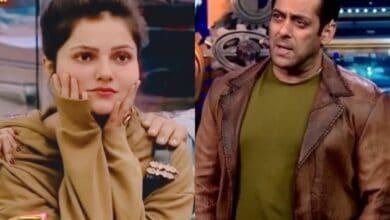 Photo of Bigg Boss 14: Rubina Dilaik upset with Salman Khan, wants to quit
