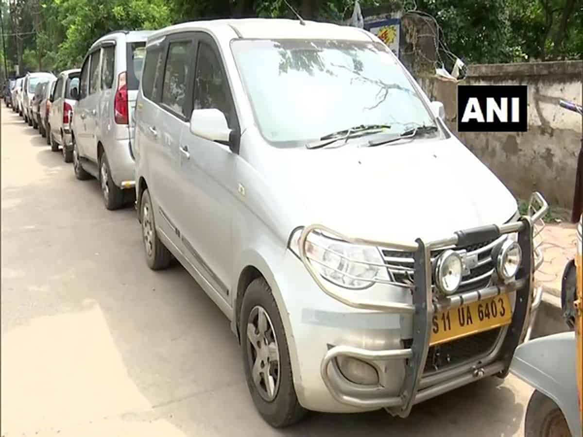 Hyderabad cab drivers out of business due to COVID-19 pandemic