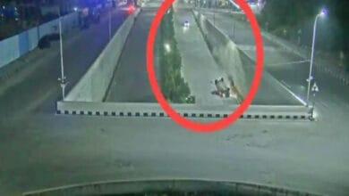 Photo of Drunken couple rams speeding car into underpass