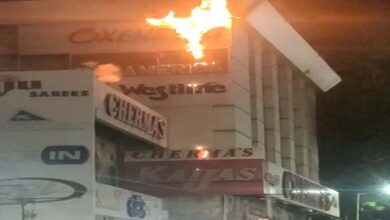 Photo of Fire breaks out at Chermas stores in city