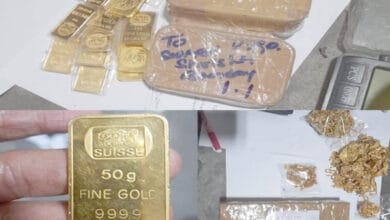 Photo of Customs officials seize 21 Kg Gold at Shamshabad Airport