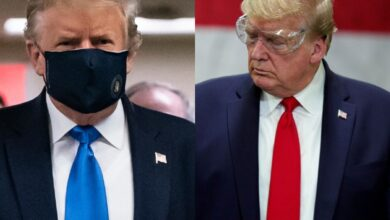 Photo of COVID Positive: Donald Trump's strained relationship with masks
