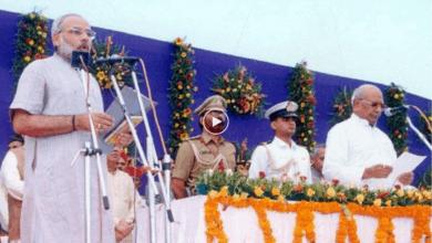 Photo of #20thYearOfNamo: Modi took oath as CM of Gujarat in 2001