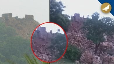 Photo of Hyderabad Rain: A portion of Golconda crashes