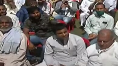 Photo of Hathras case: Accused defended at a meeting held by former BJP MLA