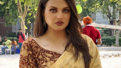 Photo of Himanshi Khurana's health deteriorates, rushed to the hospital