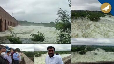 Photo of Large arrival of water in Himayatsagar, 13 gates opened up to 6 feet
