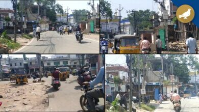 Photo of GHMC should remove electricity poles and debris on Fateh Darwaza road