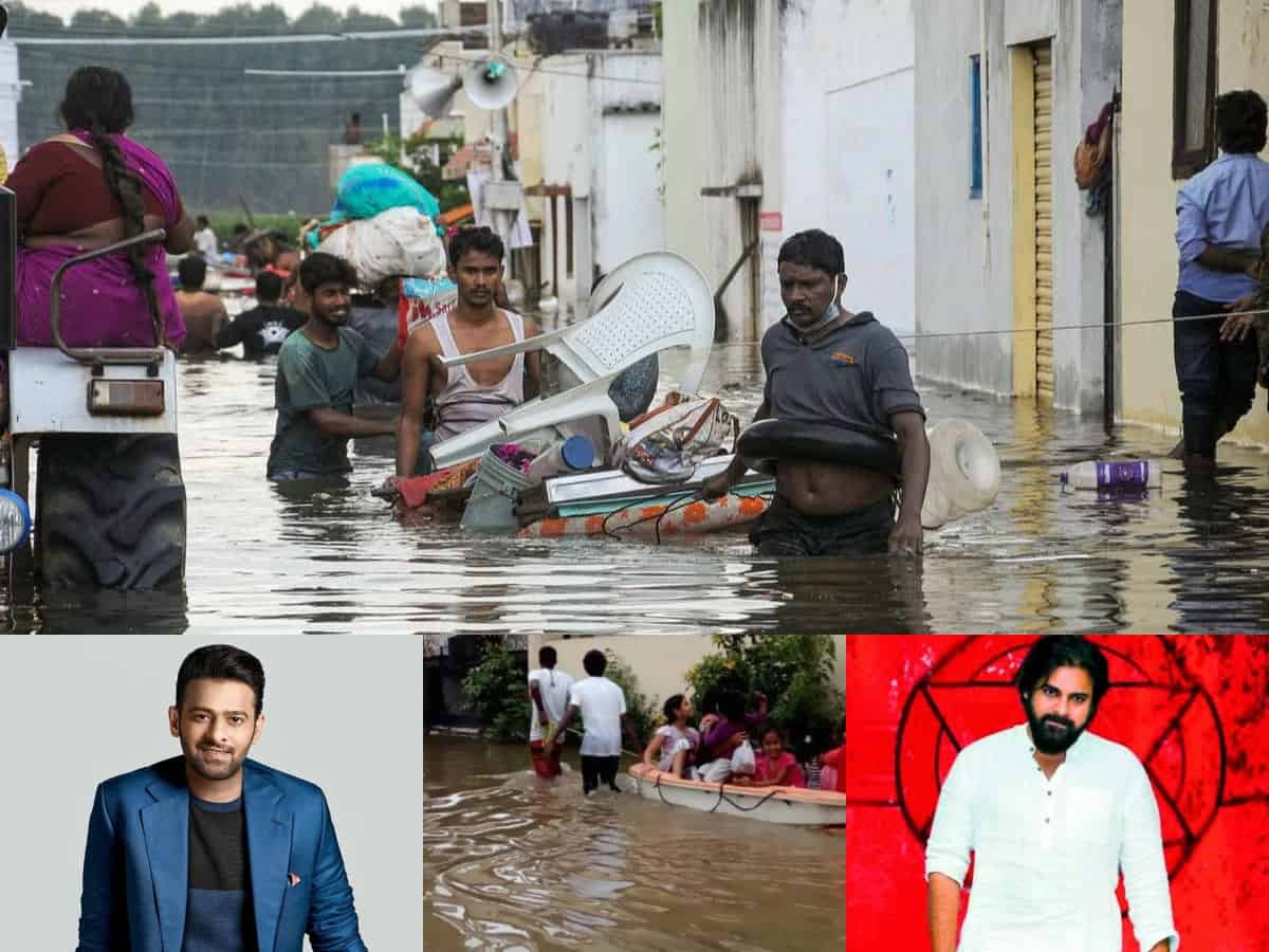 Prabhas, Pawan Kalyan donate big to Telangana CM Relief Fund