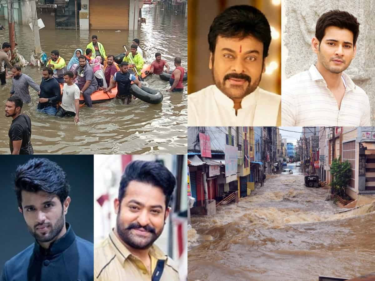 Tollywood extends financial support in wake of Hyderabad floods