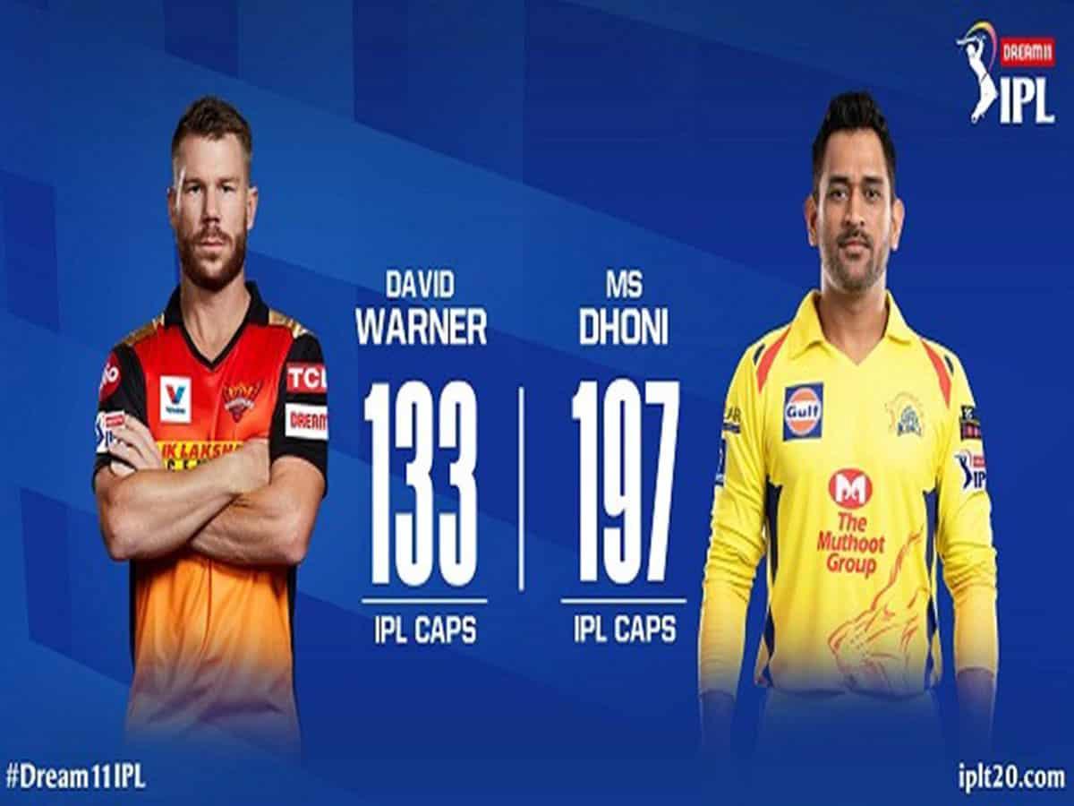 IPL 13: CSK win toss, opt to bat first against SRH