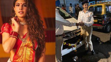 Photo of Netizens slam Jacqueline Fernandez for disrespecting Hindu rituals