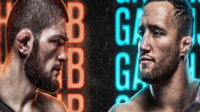 Khabib vs Justin will be an interesting battle on Saturday night!