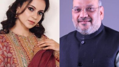Kangana wishes Amit Shah: 'Fortunate to have a dedicated leader like you'