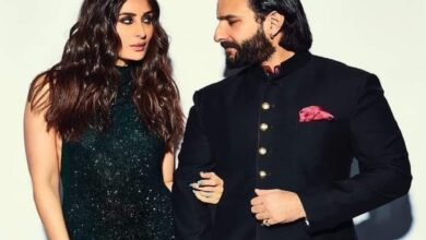 Times when Kareena-Saif painted town with royal pics
