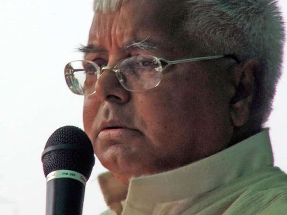 Jharkhand HC grants bail to Lalu Yadav in fodder scam