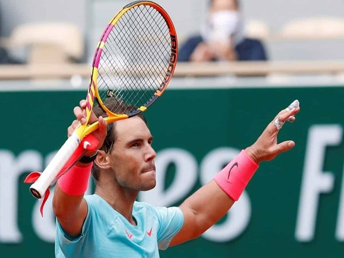 French Open Defending Champion Nadal Cruises To Fourth Round