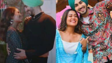 Photo of Nehu Da Vyah: Neha Kakkar, Rohanpreet's cute love story in 3 min clip