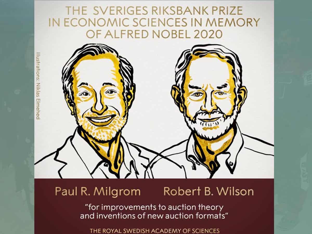 Nobel Prize in Economics goes to Paul R. Milgrom, Robert B. Wilson
