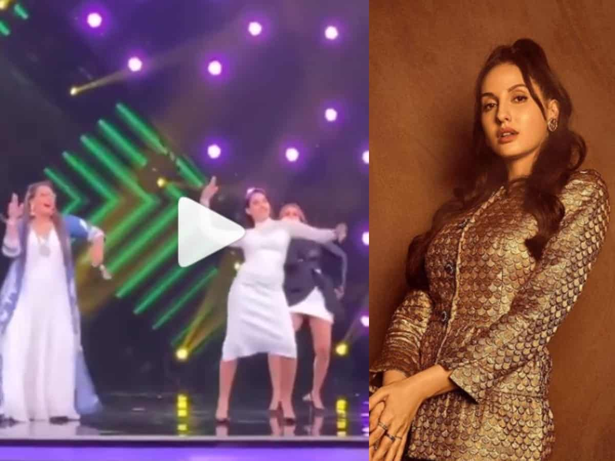 Nora Fatehi is back as a judge on India's Best Dancer?