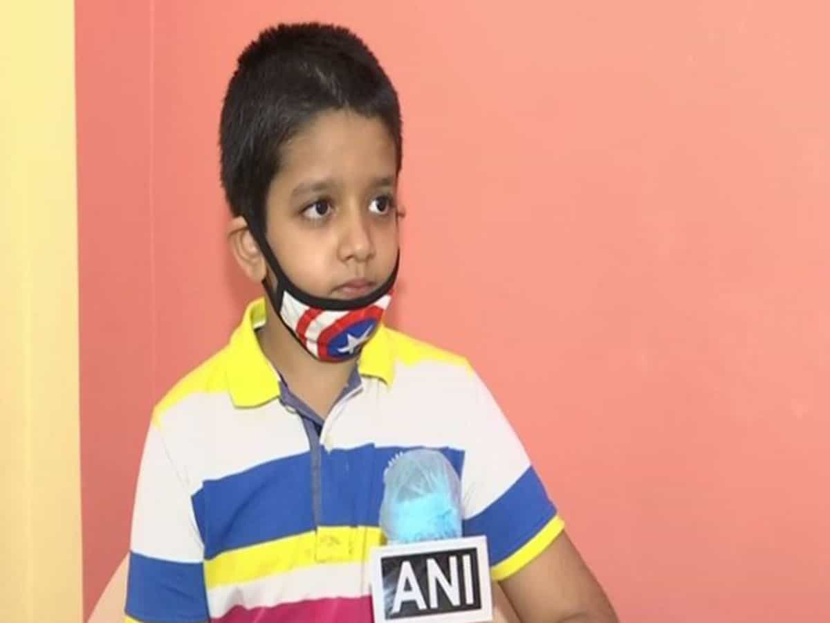 8-yr-old boy raises Rs 2 lakh to pay exam fee of over 100 poor students