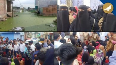 Photo of Shaheen Nagar neglected by Govt, Colonies still inundated – Women Protest