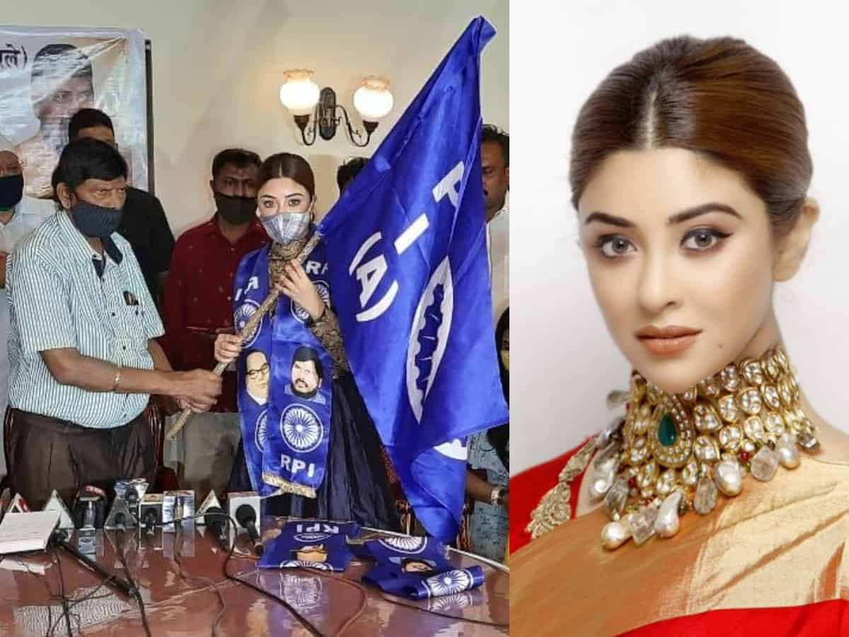 Actor Payal Ghosh joins Ramdas Athawale-led political party