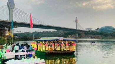 Photo of Enjoy boating and food at Durgam Cheruvu Lake