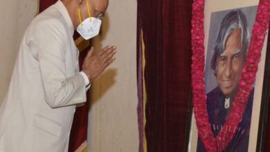 Photo of President pays tribute to Abdul Kalam on his birth anniversary