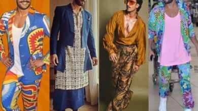 Photo of Times when Ranveer Singh made headlines with his quirky, bizarre outfits
