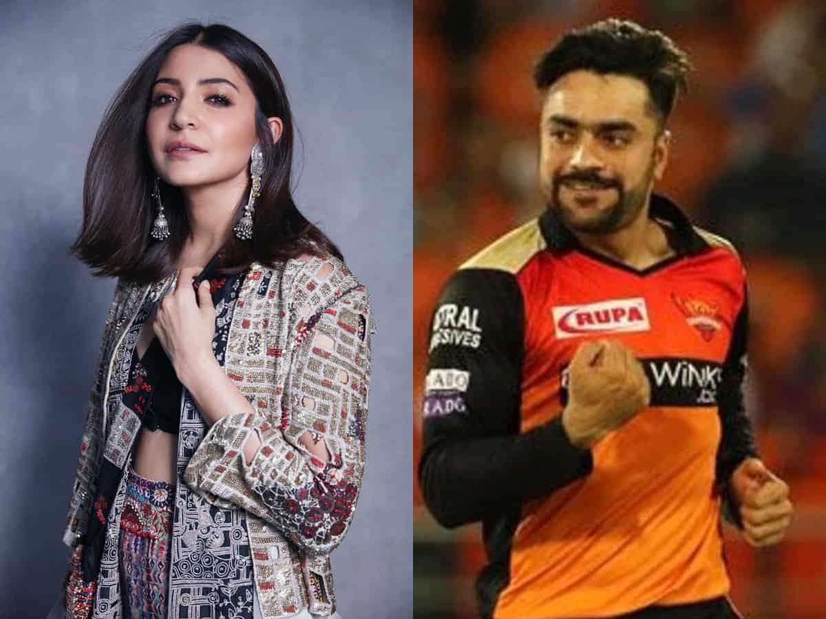 Here's why google search is showing Anushka Sharma as Rashid Khan's wife!