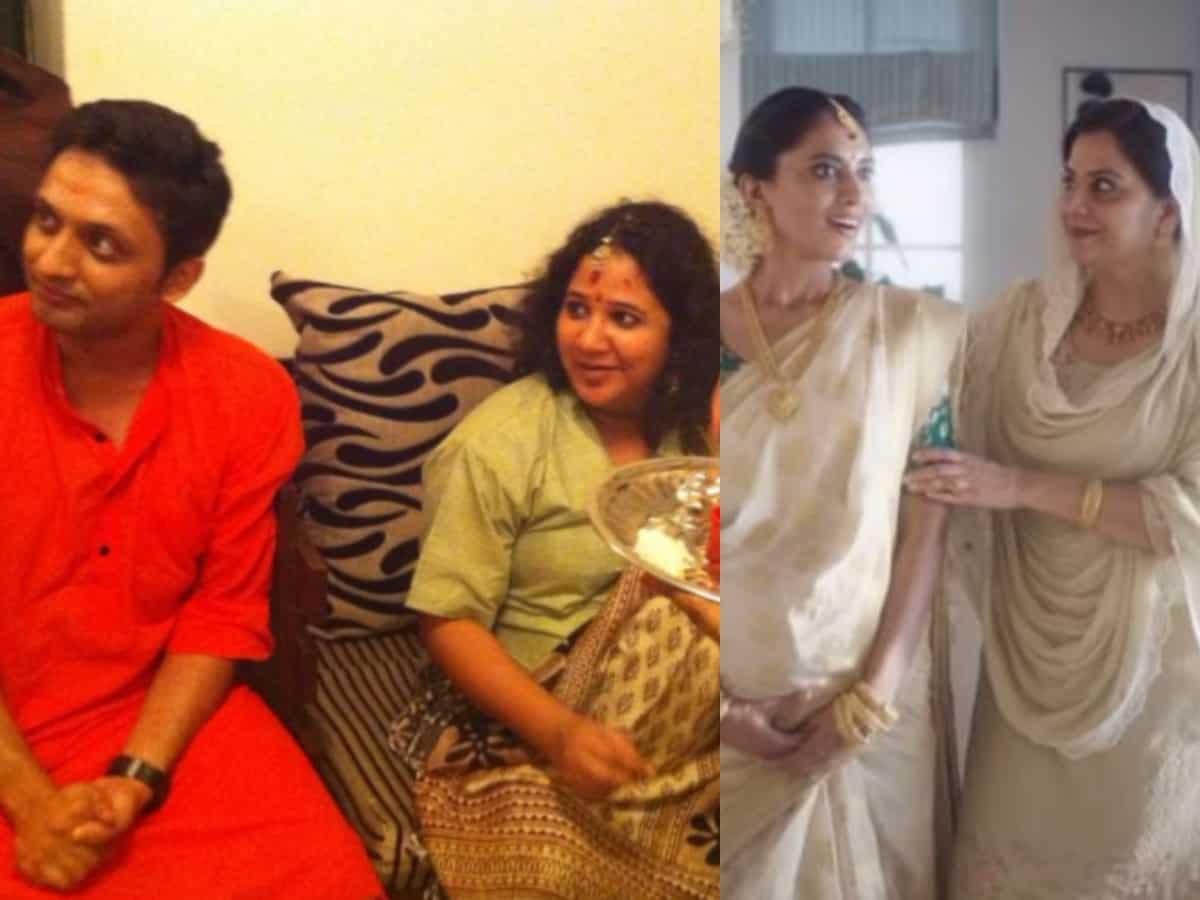 Actor Zeeshan's wife Rasika shares her baby shower pic amid Tanishq row
