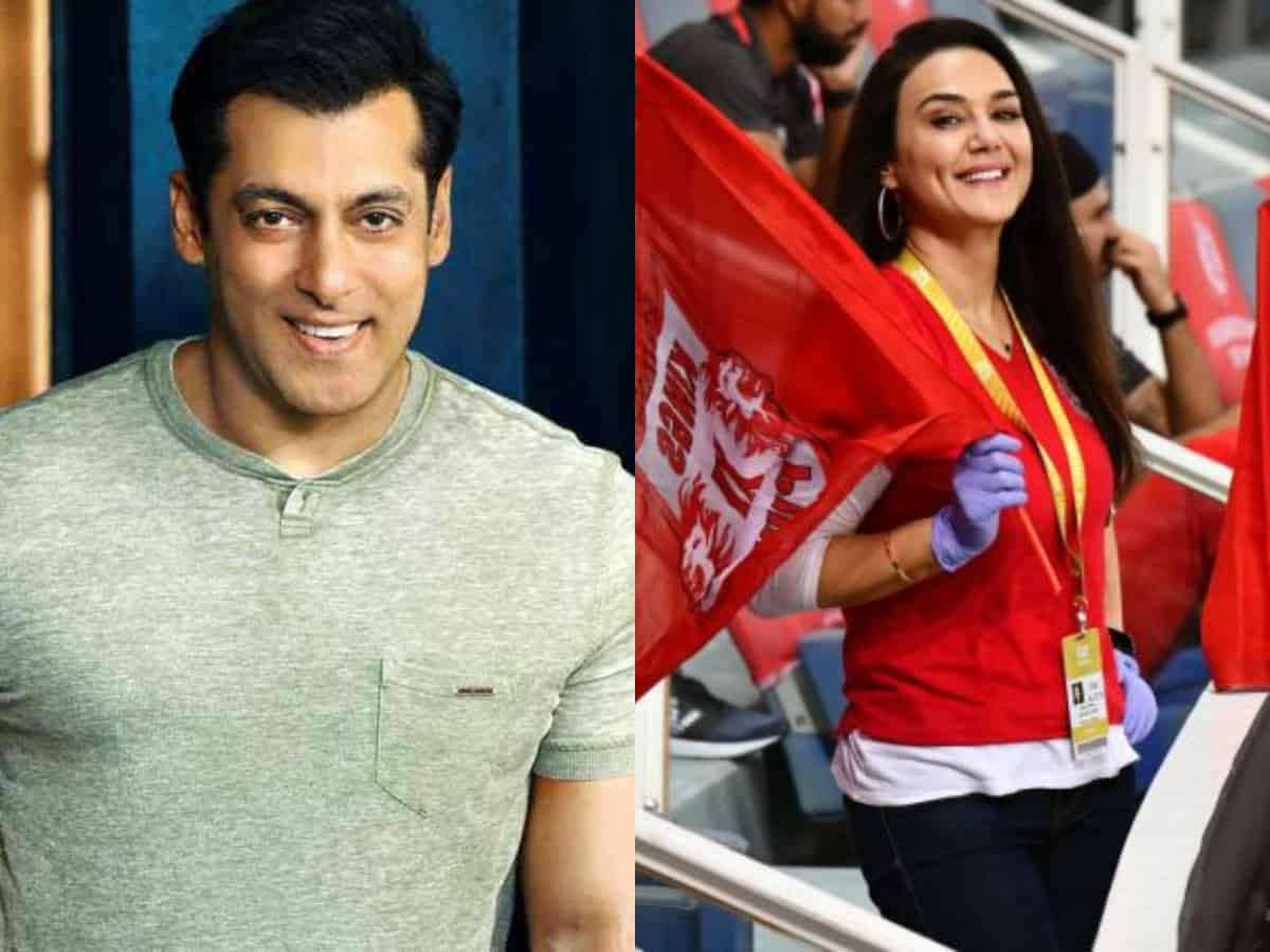 Salman Khan's old tweet on Preity Zinta's KXIP goes viral