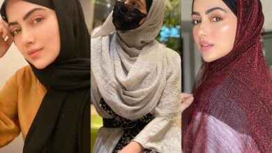 Seeking hijab inspiration? Check out beautiful styles donned by Sana Khan