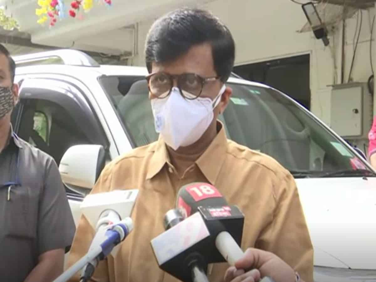 Voting BJP to get COVID vaccine shows it's discriminatory nature: Sanjay Raut