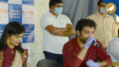 Photo of Tollywood Actor Siva Balaji and Madhumitha filed a case against Private School