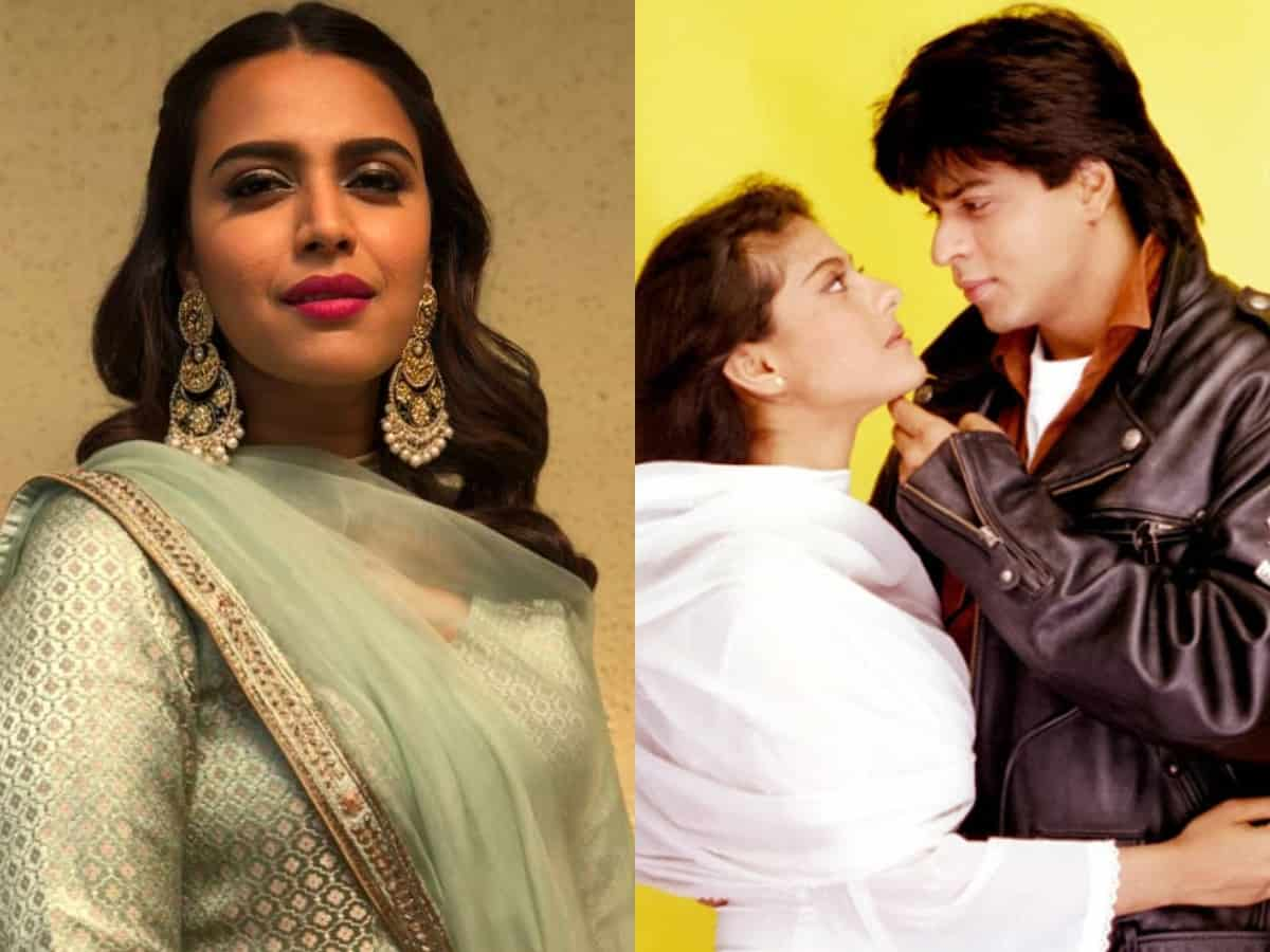 Here's why Swara Bhasker criticised SRK's character Raj from DDLJ