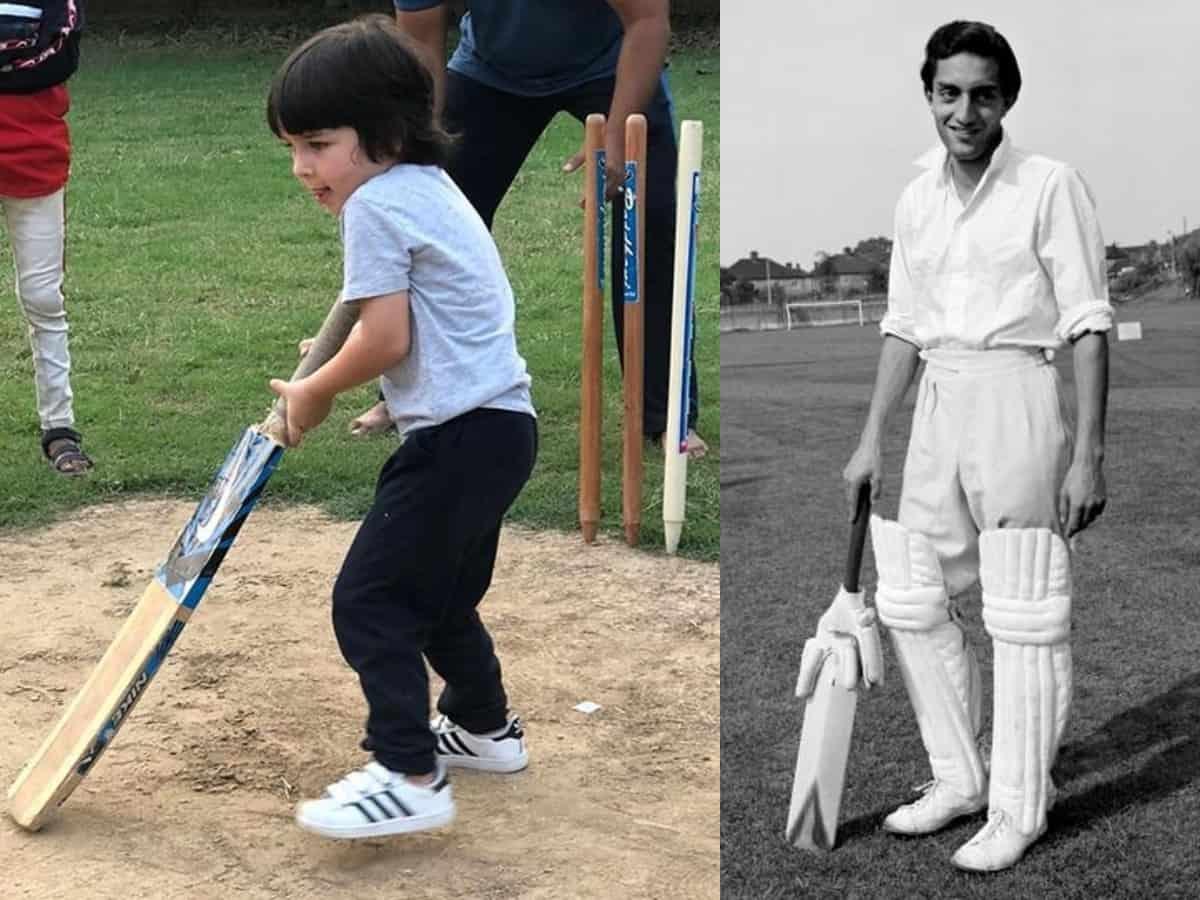 Cricket in genes! Bebo asks a spot for Taimur Ali Khan in IPL 2020
