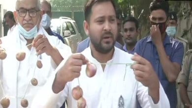 Photo of 60 scams occured under Nitish Kumar's govt: Tejashwi