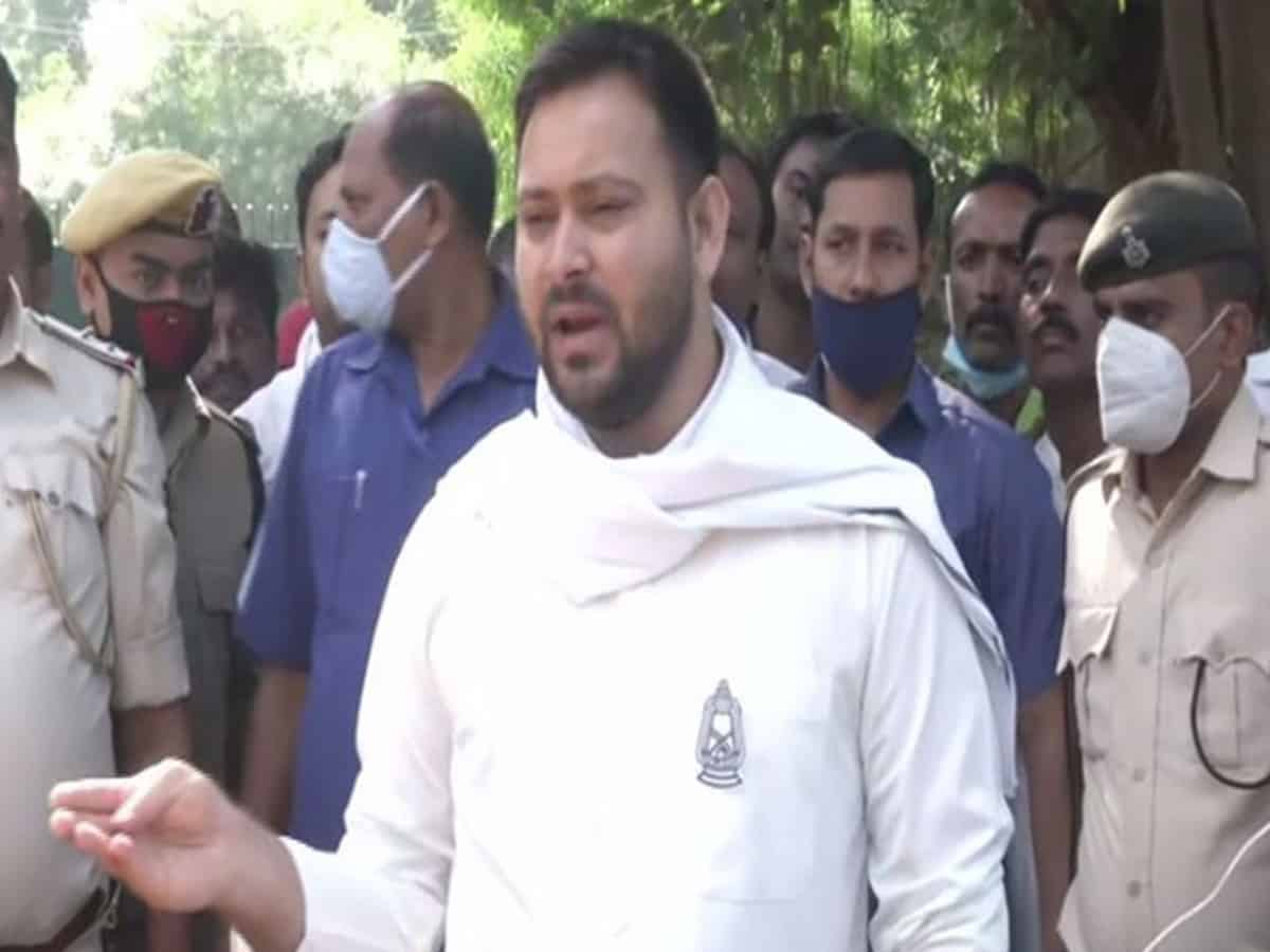 He is PM, he can speak anything: Tejashwi Yadav