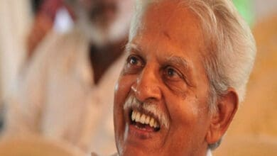 Photo of Varavara Rao's Health condition feeble: Wife moves SC for his release