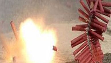 Photo of Firecrackers heard across Delhi on Diwali night despite ban
